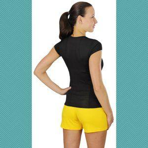ALO Yoga Mesh Back Coolfit Short Sleeve T-shirt